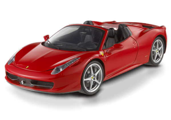 FERRARI 458 SPIDER ITALIA rouge rouge CORSA by HOT WHEELS ELITE  BRAND NEW IN BOX