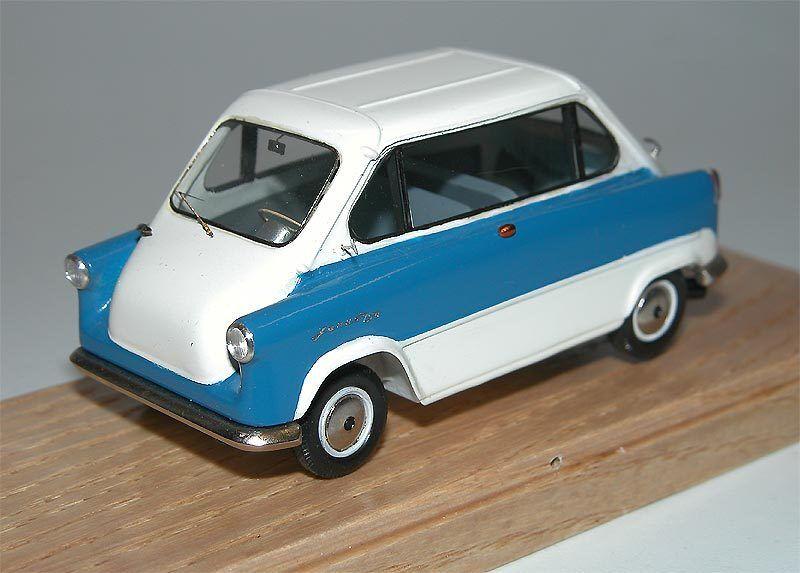 EMC-Zündapp Janus 1957-1958 - BIANCO azul-Resina  lavoro a mano modello