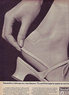 Publicite Advertising 034 1966 Tricosteril Ne S'enlève Pas Avec Votre Chaussure Breweriana, Beer Collectibles