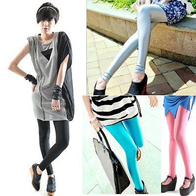 Sexy Fashion Woemn Stretch Fluorescent Candy Color 550 Leggings RTUS