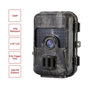 Trail-Camera-16MP-1080P-Infrared-Night-Vision-Game-Wildlife-Hunting-Cam-IP66-AU