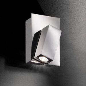 Wandstrahler-verstellbar-LED-Wandleuchte-chrom-eckig-Fluter-Innenleuchte-Flur