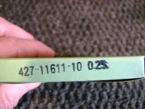 YAMAHA NOS OEM FIRST OVER .25 PISTON RING SET MX100 MX 100 1974-1975 427-11611
