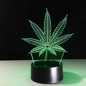 Leaf-Illusion-LED-Lamp-3D-Light-Experience