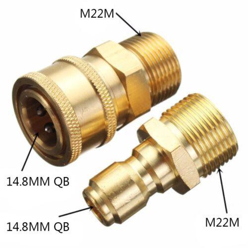 Messing Schlauchkupplung Schnellkupplung Schlauchverbinder Systemkompatibel DE