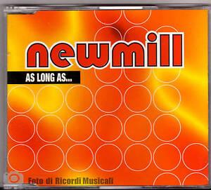 CDS-CDM-NEW-MILL-AS-LONG-AS-NUOVO-NON-SIGILLATO
