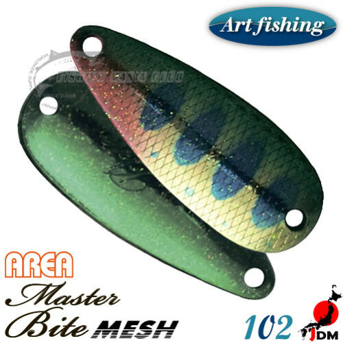 Art Fishing Bite Mesh Area 3 g Trout spoon Assorted Colors