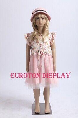 Eurohandisplay BB-7 Kinderpuppe Schaufensterpuppe Kids Mannequin M/ädchen Girl 124cm