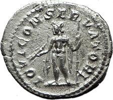 SEVERUS ALEXANDER 222AD Silver Genuine Ancient  Roman Coin Jupiter Zeus i59212