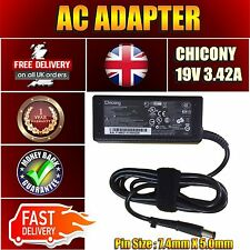 AC ADAPTER POWER SUPPLY BATTERY CHARGER FOR HP N193 V85 R33030 19V 3.42A 65W