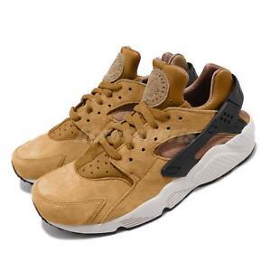 new arrival e57d5 e43e2 Image is loading Nike-Air-Huarache-Run-PRM-Wheat-Pack-Black-