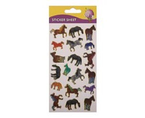 Purple Peach Laser Cut Fun Sticker HORSE For Art /& Decoration Use New