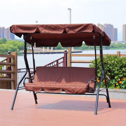 Details about  /Garden Swing Seat Cover Cushion Canopy Dust Covers Dustproof Chair Replacement