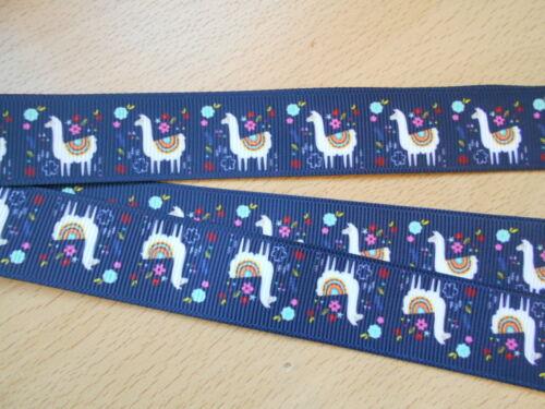 Alpacas Cordon Sifflet Walking Formation Chiot Clé ID lama bleu marine fait main