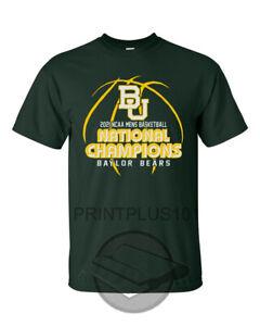 2021 Baylor Bears NCAA Mens Basketball National Champions Final Four Shirt SM-3X