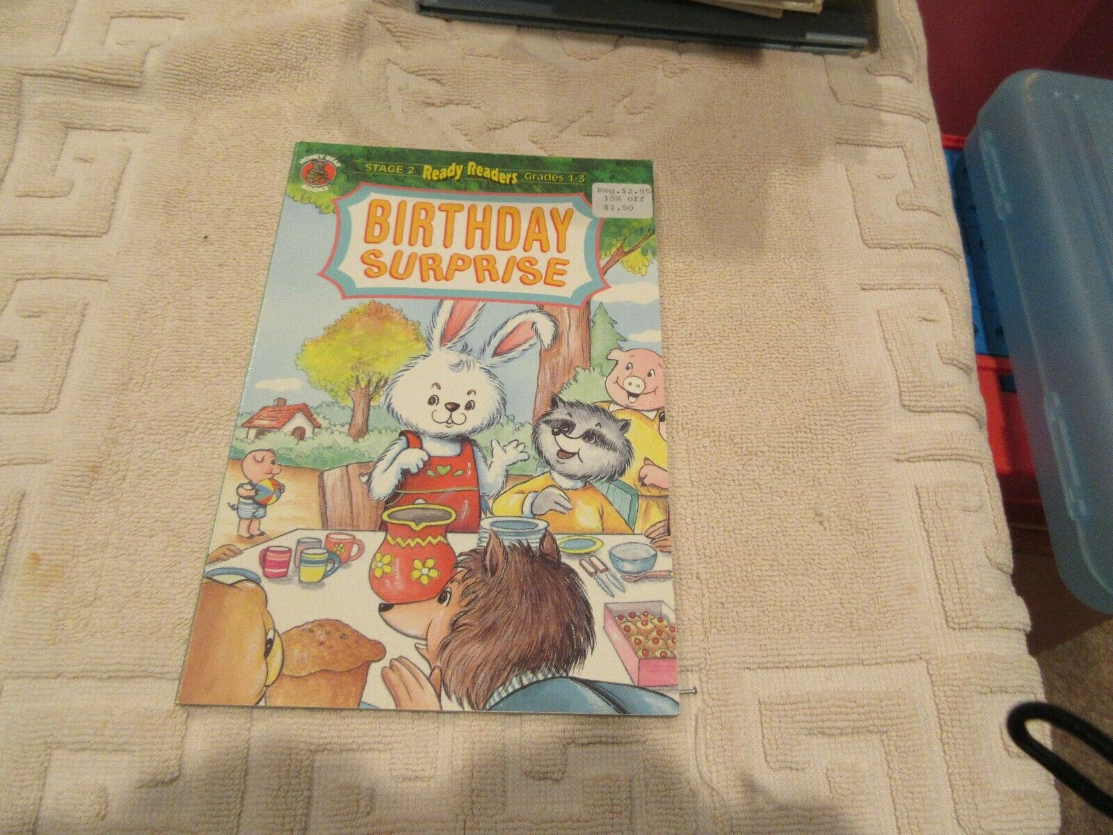 Birthday Surprise! Ready Readers , Stage 2 , Grades 1-3