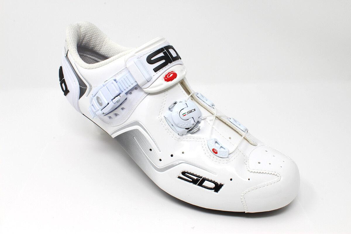 NEW  Sidi Kaos White White Carbon Road Bike shoes  save 50%-75%off