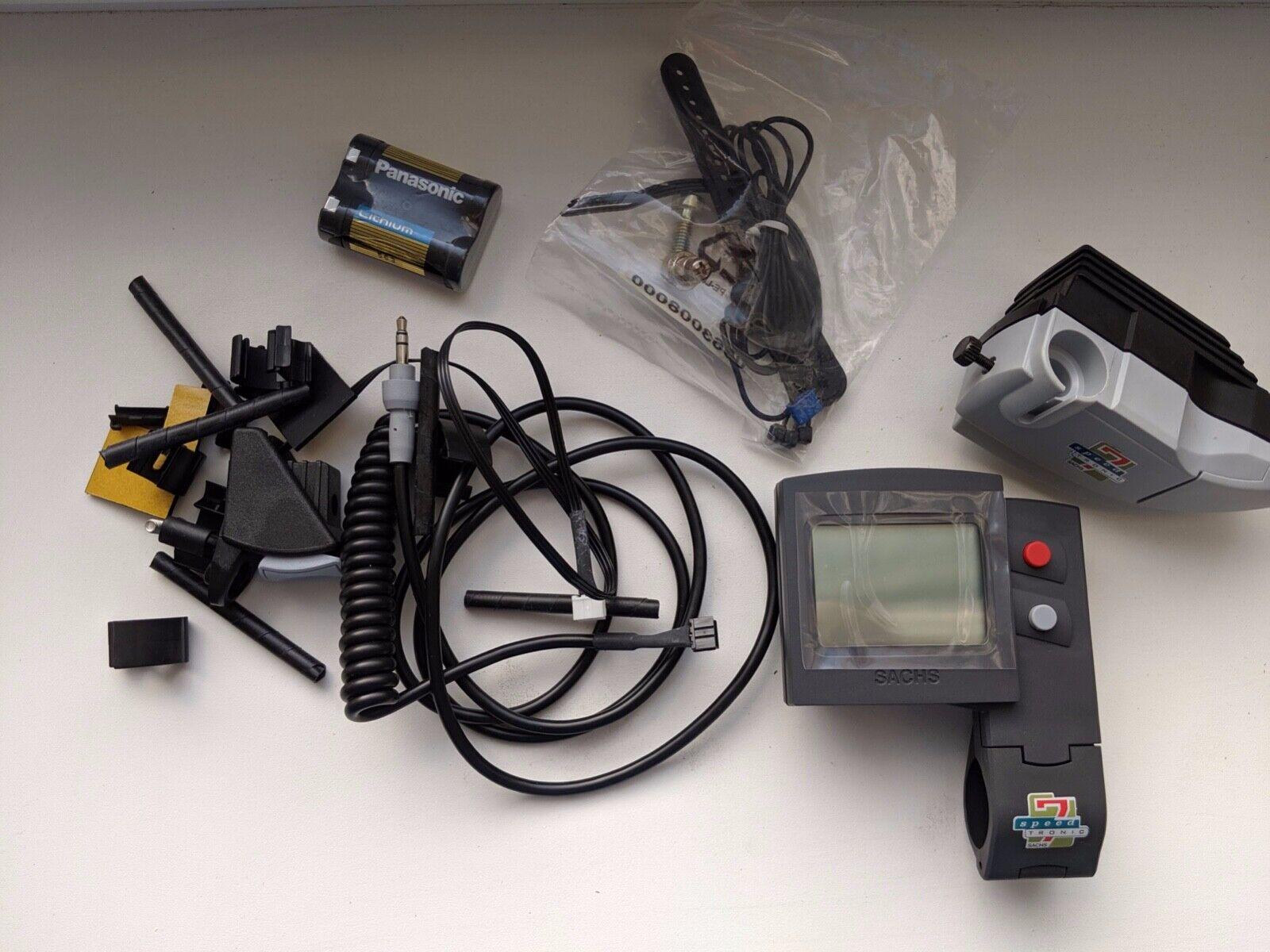 Sachs Speedtronic 7 elektrisches Schaltsystem Schaltung vintage