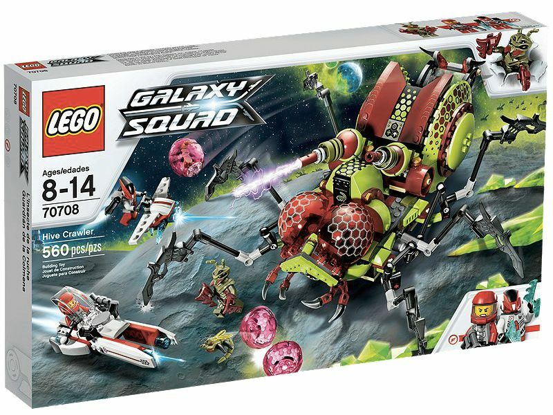 LEGO ® galaxy squad 70708 insectes reine nouveau OVP Hive Crawler New MISB NRFB