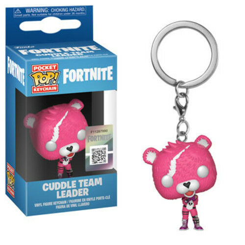 CUDDLE TEAM LEADER NEW Funko POCKET POP KEYCHAIN FORTNITE