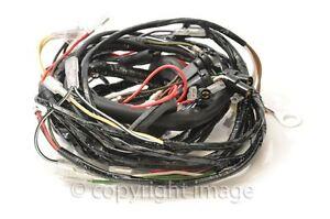 triumph t120 tr6 t140 bonneville wiring harness 1973 74, uk made ebay 1971 bonneville 650 image is loading triumph t120 tr6 t140 bonneville wiring harness 1973