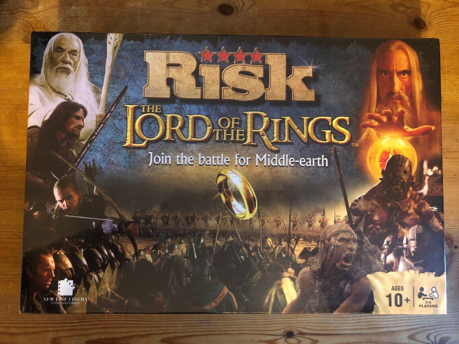 Le Seigneur des Anneaux Risk Board Game Battle For Middle Earth Board Game 10+ Hasbro