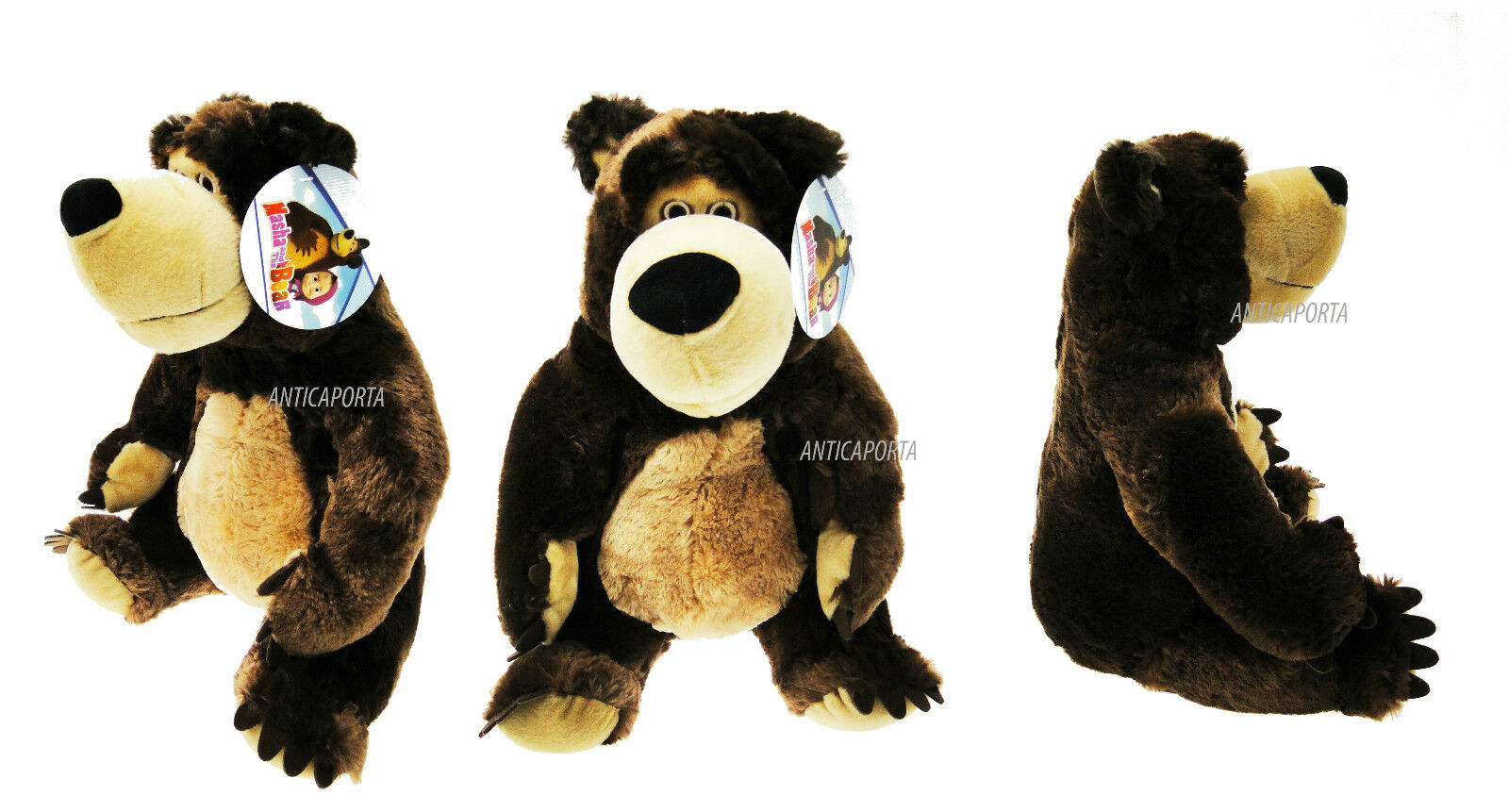 Soft toy Teddy Bear Masha & Orso Masha and bear 46 cm Original Huge Giant bear