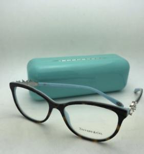 4bf07a67243 TIFFANY   CO. Eyeglasses TF 2144-H-B 8134 54-16 140 Tortoise on Blue ...