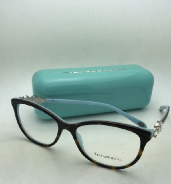 70a56745298a Tiffany   Co Eyeglasses Victoria TF 2144hb 8134 Havana Turquoise ...