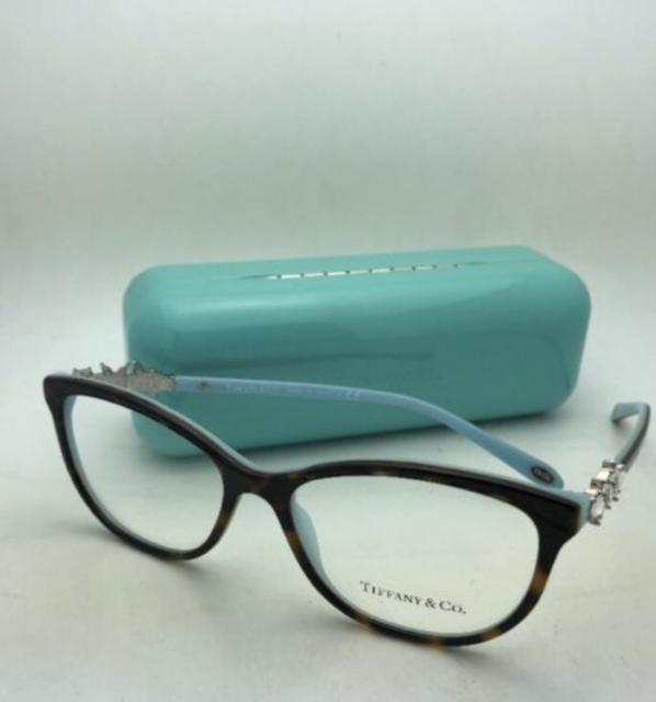 768abd0f70a6 Tiffany   Co Eyeglasses Victoria TF 2144hb 8134 Havana Turquoise ...