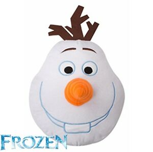 Disney Frozen Olaf  3D plush soft cushion Children  Bedroom Travel Pillow