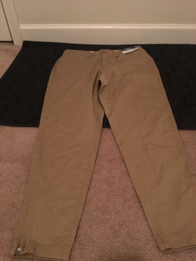 Riders Lee Casual Pants Sz 4M Comfort Waist Brown Clothes NWT