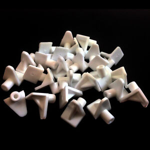 WHITE-PLASTIC-5mm-M5-SHELF-SUPPORT-STUD-PEGS-KITCHEN-CABINETS-PLUG-IN