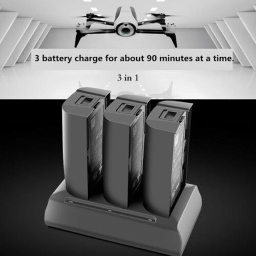 3 In 1 Super Fast Charger Adapter for Parrot Bebop 2 Drone// FPV Balanced Battery