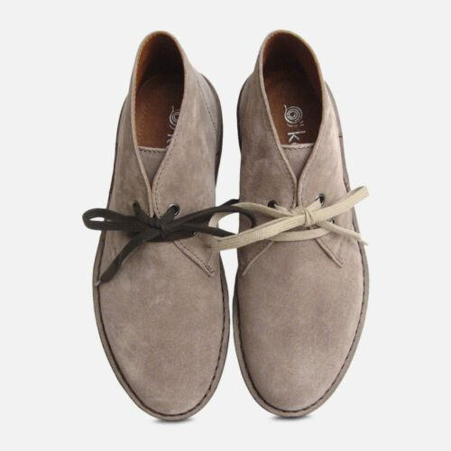 Grey Arthur Desert Boots Suede By Knight Italian Light dwORdY