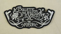 Bullet For My Valentine Poison  Iron On/Sew On Patch Emo Goth Punk Rock