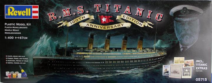 REVELL 1 400 KIT NAVE RMS TITANIC 100th ANN EDITION LUNGHEZZA 67 CM  ART 05715