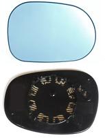 Spiegelglas Außenspiegel Rechts Heizbar Konvex Blau 2-PIN BMW 1er BMW 3er