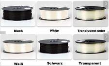 Prodesign PLA Filament 1.75mm 1KG Rolle 3D Drucker schwarz weiß oder transparent