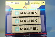 """Athearn 29161 3 x 40' Highcube Container """"MAERSK"""" *ORIGINAL / auch für herpa*"""