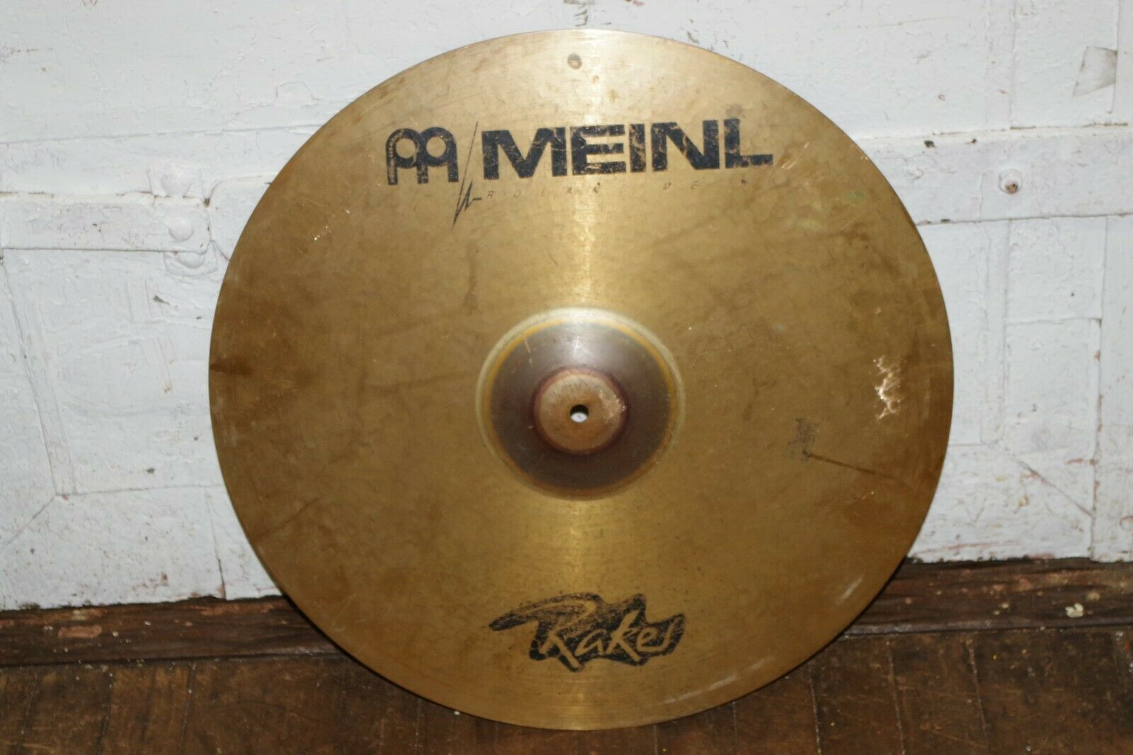 ROLAND MEINL Rakes 20  Medium Ride CYMBAL Made in Germany