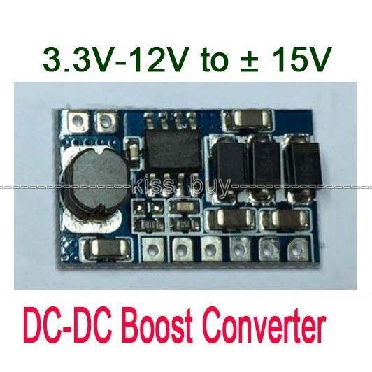 3W DC-DC Boost Converter 3.3V-12V to ± 15V Voltage Regulator Power Supply Module