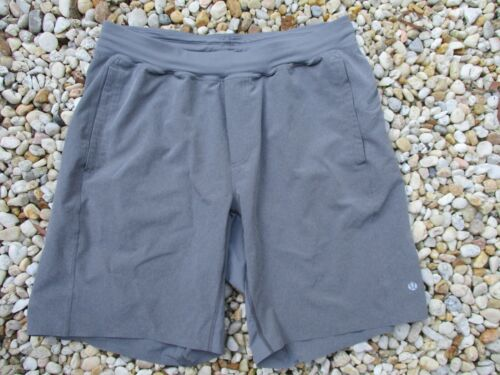 Lululemon authentic gray stretch unlined elastic w