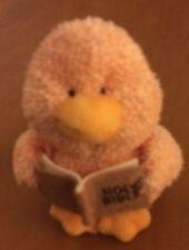 "Russ Terri Cloth Duck Plush Holding Bible 6"" (See Decription)"