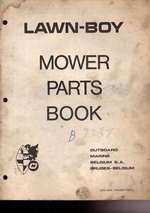 Catalogue Pieces Detachée Tondeuse A Gazon Lawn Boy 8231