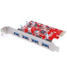 [supporto UASP per Mac Pro] Inateck 4 porte PCI-E a USB 3.0 Scheda di espansione fo.