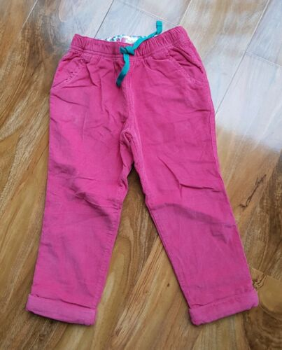 Mini Boden Pull-on Pants double layered velvet Trousers heart patched  NEW G0446