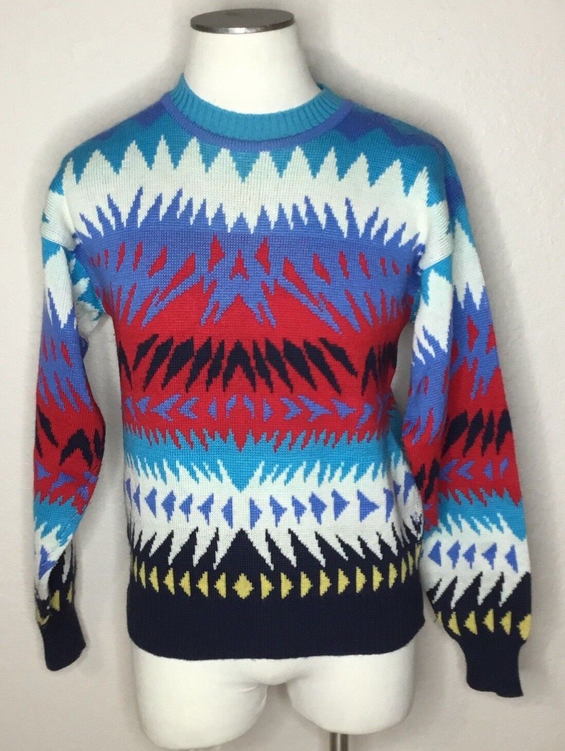 Vintage Peregrine Ski Sweater Sun Valley