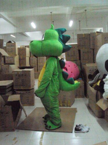 Halloween Dragon Mascot Costume Suit Cosplay Party Game Dress Outfit Adults 2020