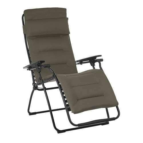 Lafuma Futura Air Comfort Zero Gravity Recliner Chair, Taupe (Used)